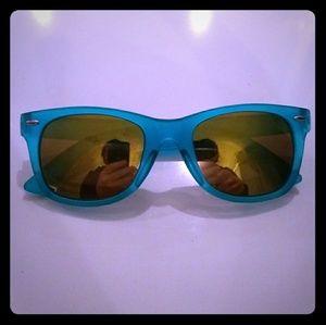 Other - Turquoise rayban like sunglasses